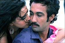 Neha Dhupia and Ranvir Shorey